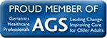 A Proud Member of the American Geriatrics Society
